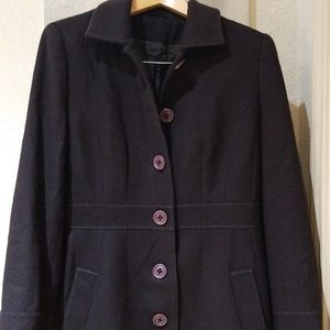 Boden coat size 12 preowned.